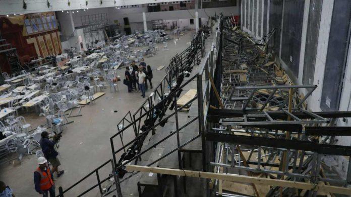 Crollo sinagoga Israele