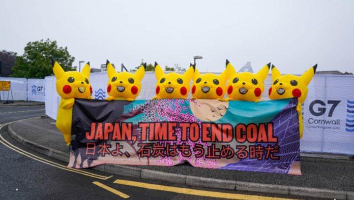 protesta al G7