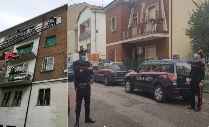 carabinieri tragedia ferrara
