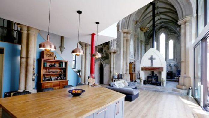 da chiesa a casa di lusso