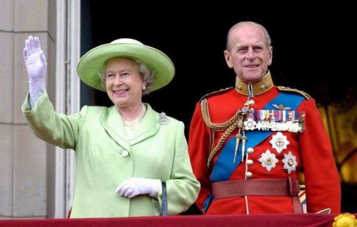 elisabetta filippo compleanno trooping the colour