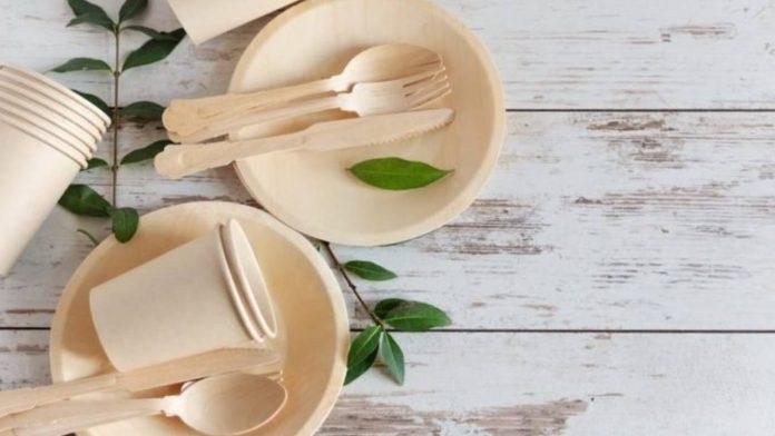 posate e stoviglie bambù