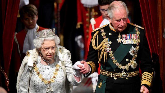 principe carlo regina elisabetta