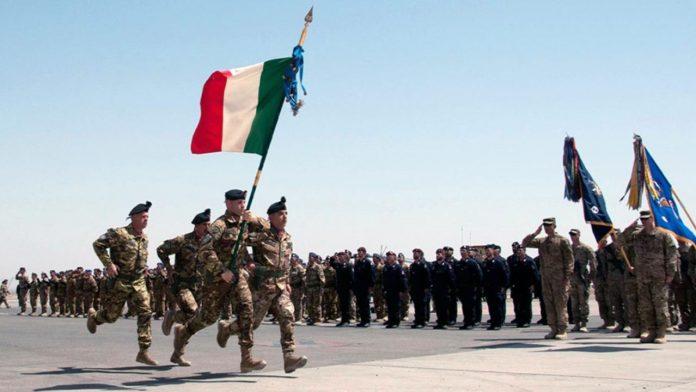 ritiro truppe italia