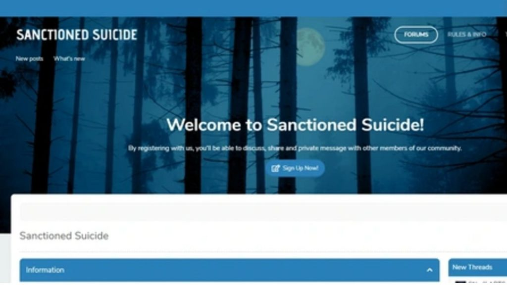 sanctioned suicide home page