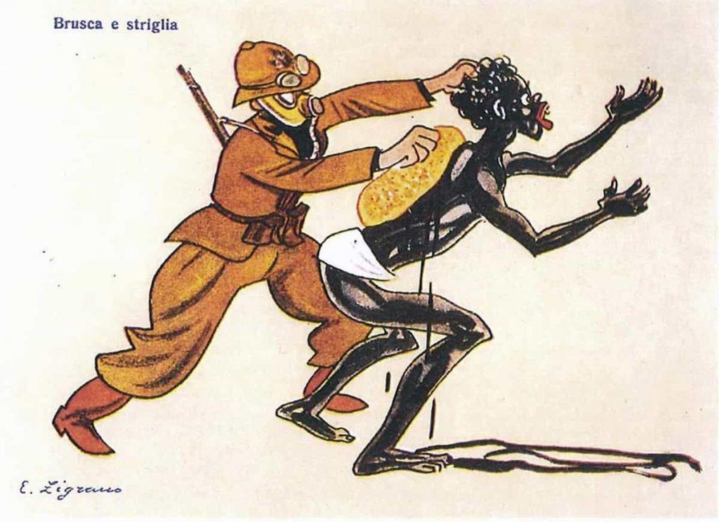 vignetta colonialismo