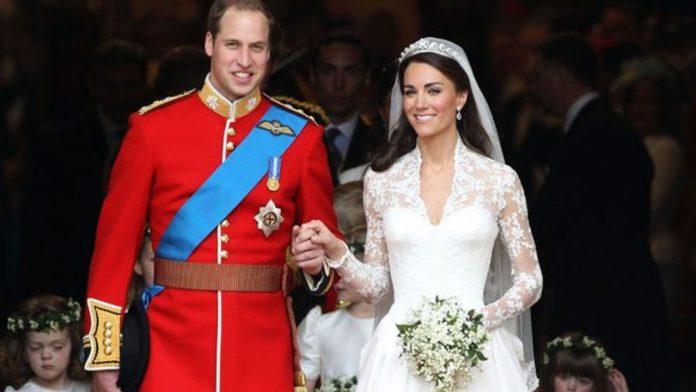 abito sposa kate commento regina