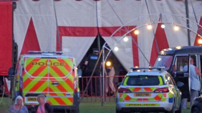 incidente circo trapezista
