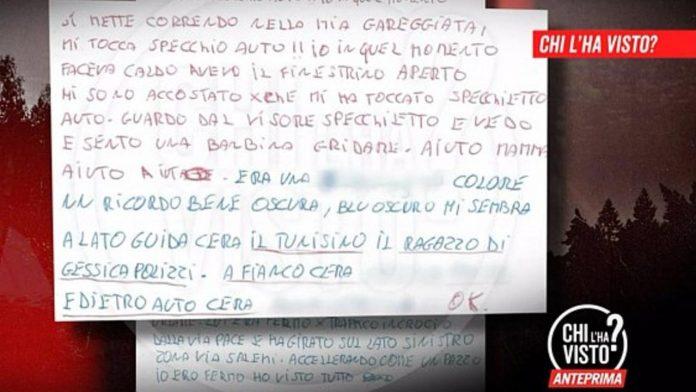 lettera anonima giacomo frazzitta