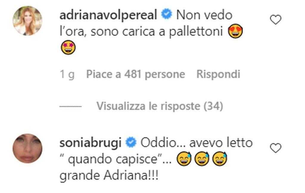 Sonia Bruganelli vs Adriana Volpe