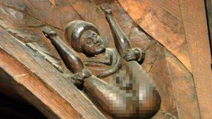 Il rilievo dell'uomo denudato è stato soprannominato Seamus O'Toole