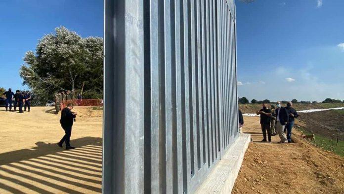Muro tra Grecia e la Turchia