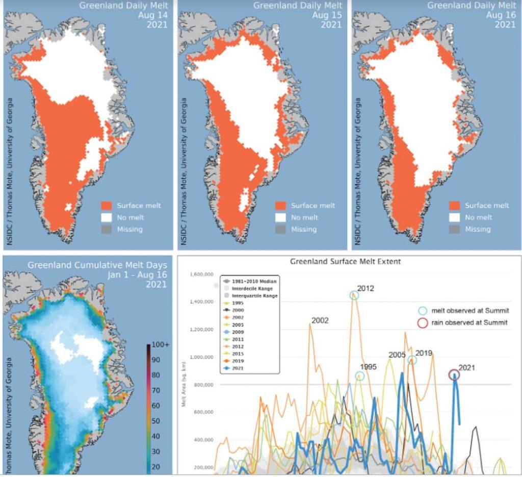 situazione ghiaccio Groenlandia