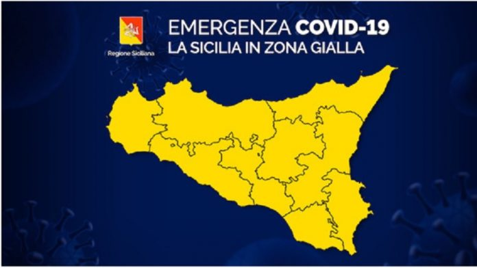 sicilia zona gialla covid