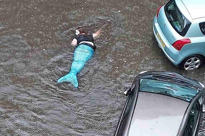 sirena a Glasgow