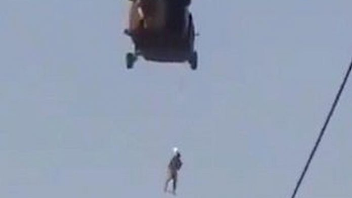 talebani impiccato black hawk
