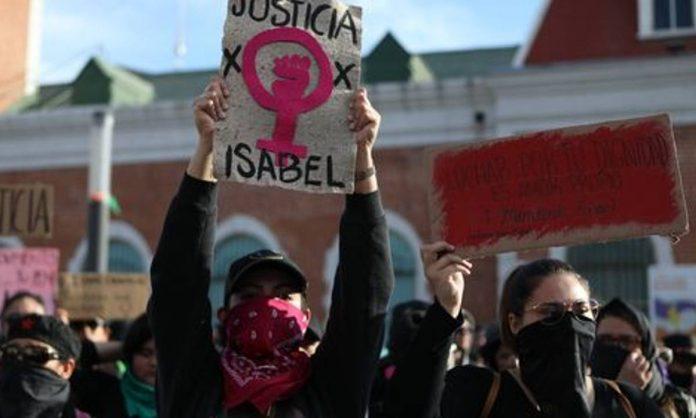 Femministe messicane contro i femminicidi