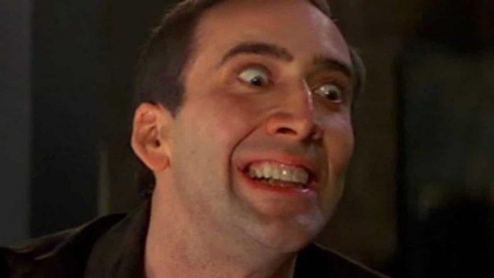 Nicolas Cage flippato