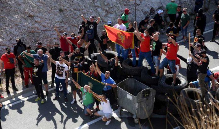 Proteste Montenegro