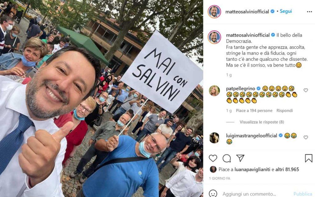 Salvini Sorride