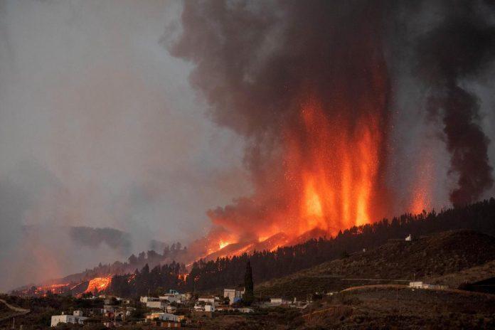 eruzione canarie