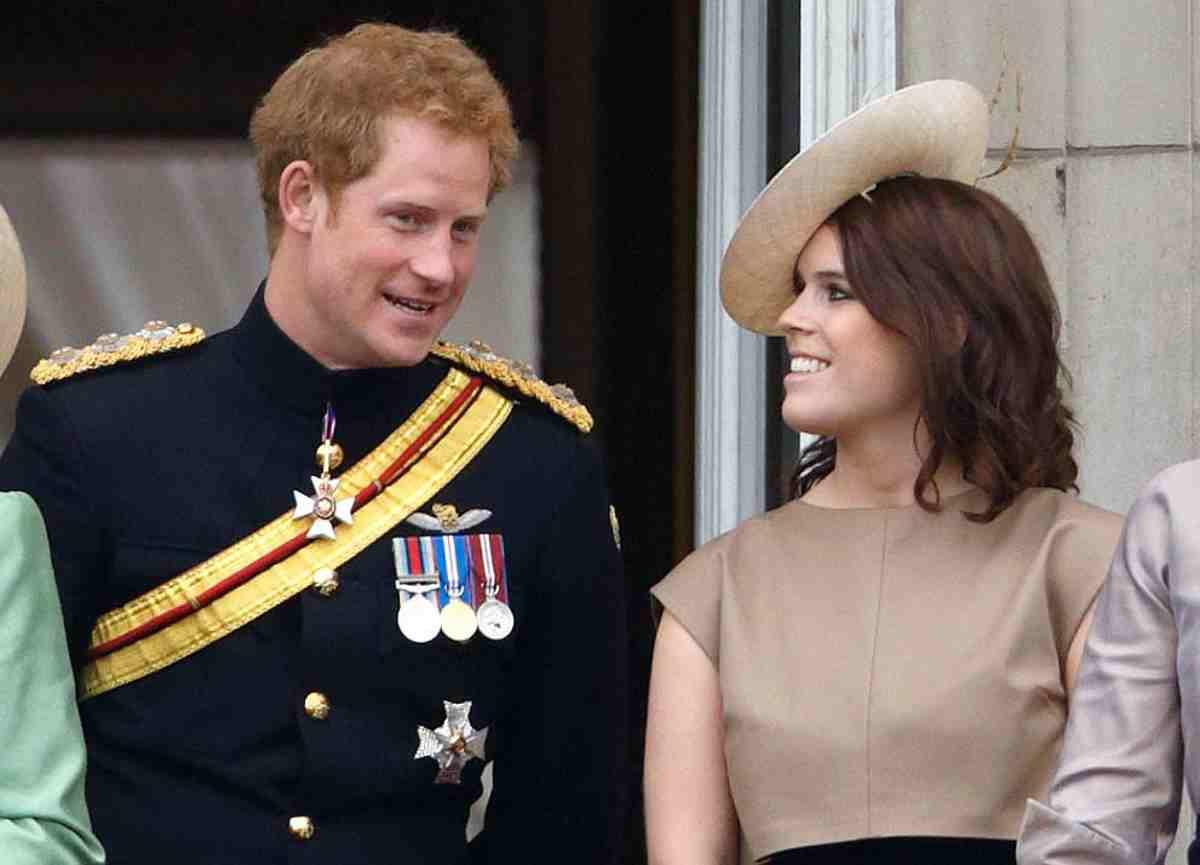 Il principe Harry e la cugina Eugenie