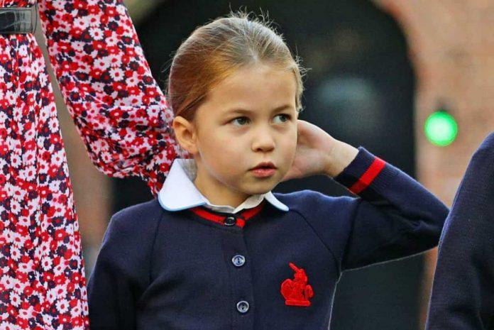 principessa charlotte primo giorno di scuola