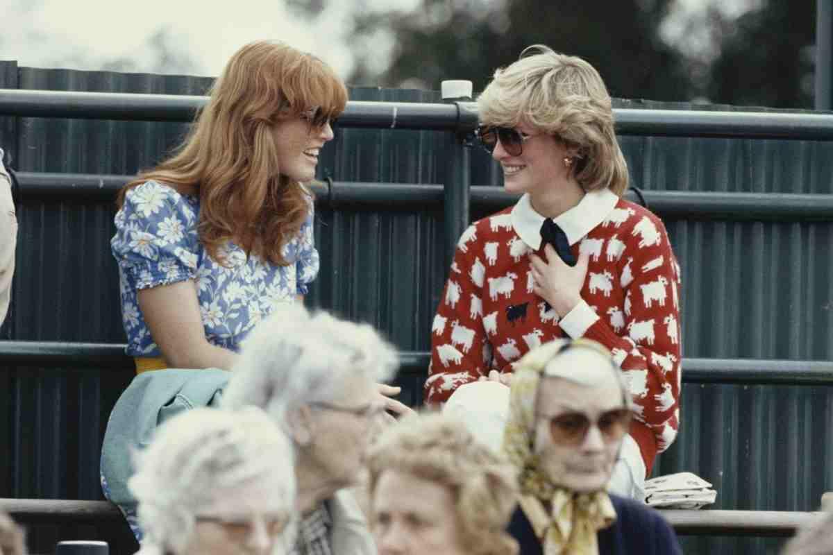 Lady Diana e Sarah Ferguson