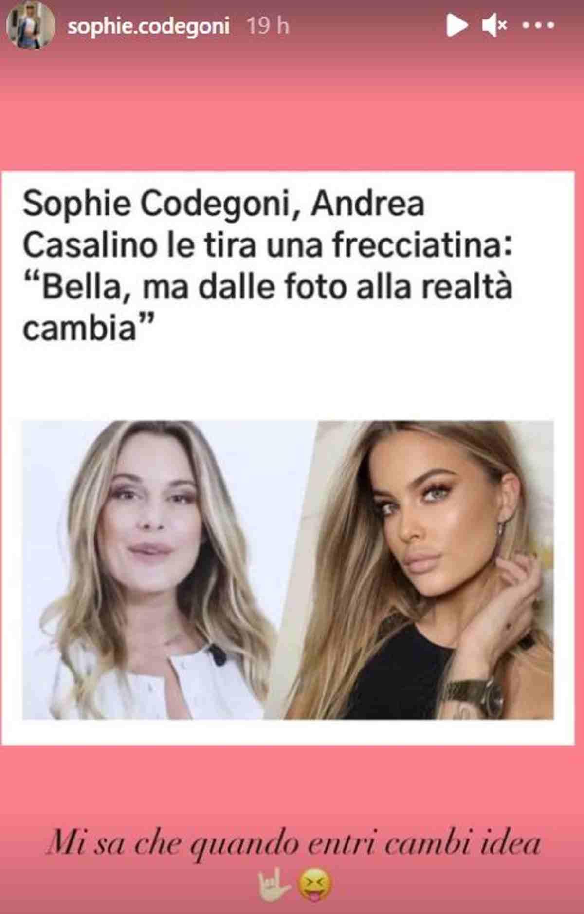 Sophie Codegoni e Andrea Casalino