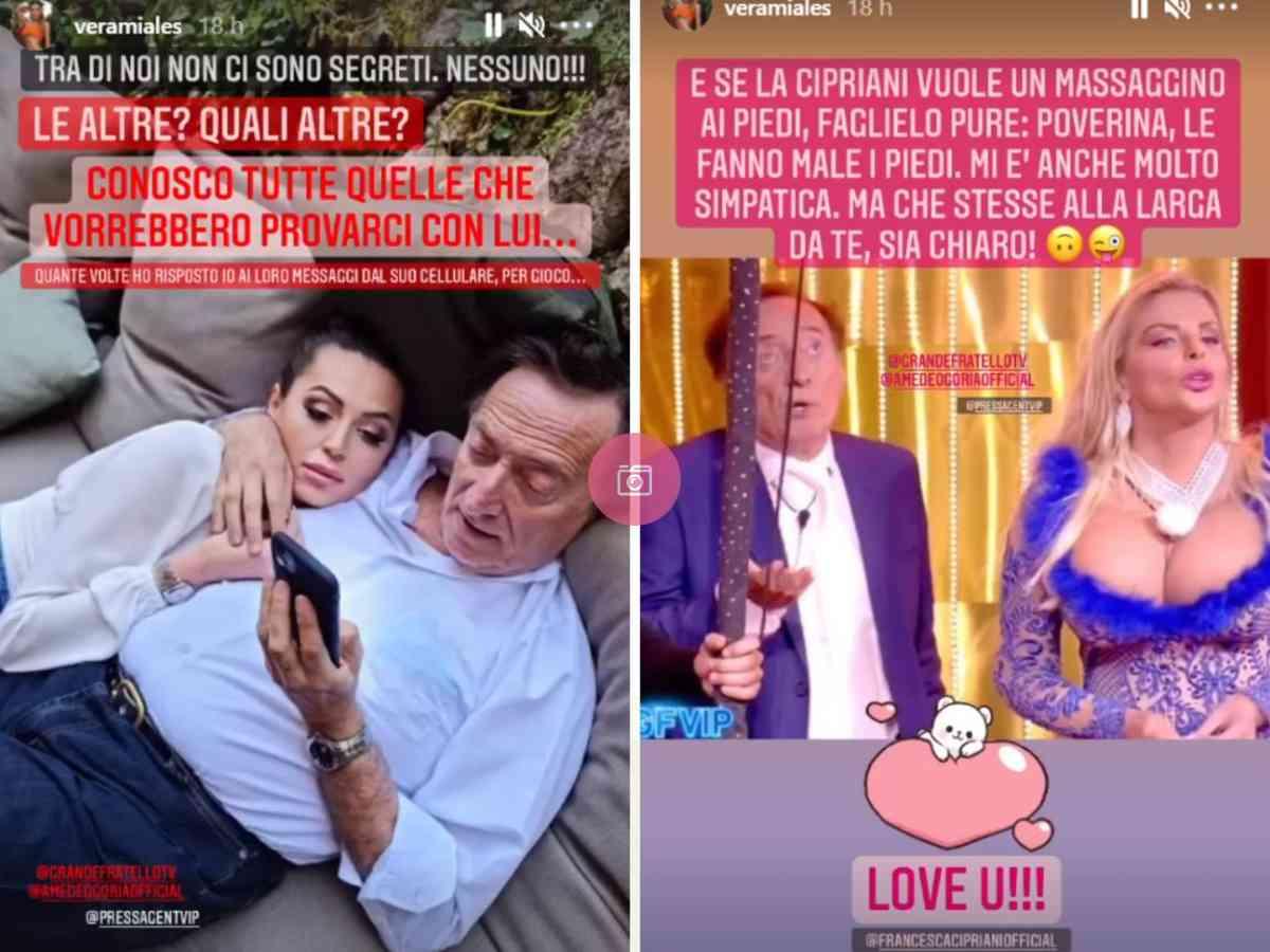 Vera Miales fidanzata Amedeo Goria Instagram