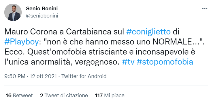 Bonini contro Corona