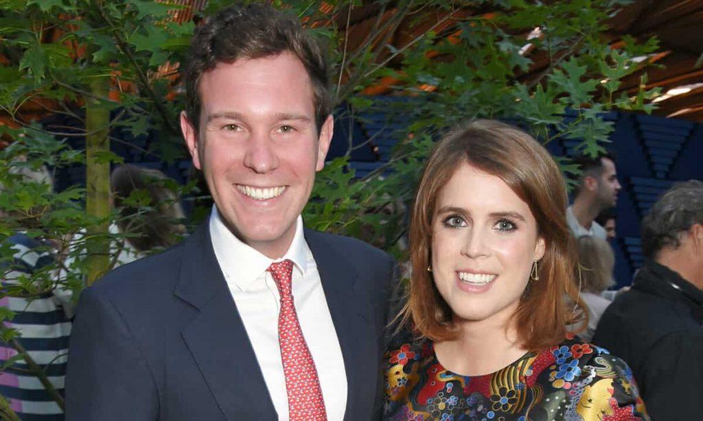Eugenia di York e il marito