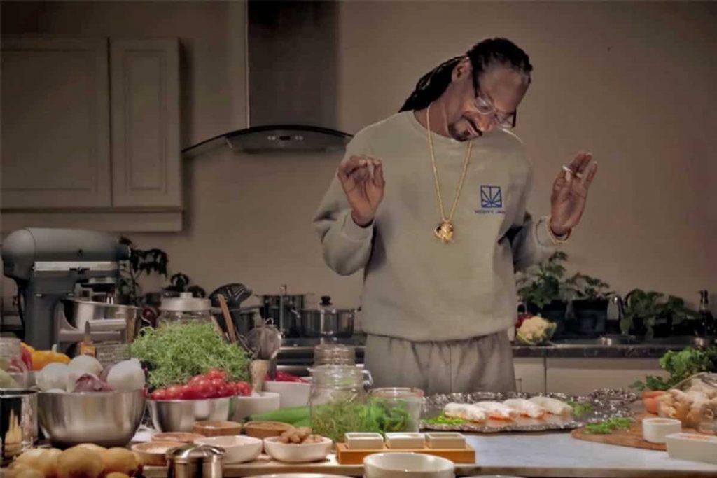 snoop Dogg in cucina